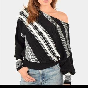 Free People Spectrum Striped Sweater